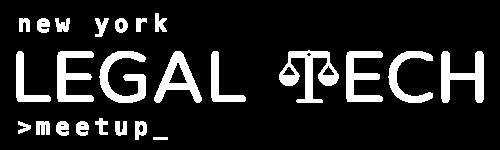 NY Legal Tech Meetup Forum